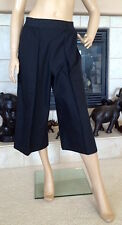 UNIQLO AND LEMAIRE WOMEN OXFORD GAUCHO PANTS COLOR BLACK NWT SIZE M