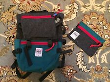 Topo x Woolrich Rover Pack + Accessory Bag