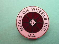 Meals on Wheels 12 Year Badge