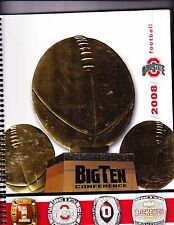 2008 OHIO STATE FOOTBALL GUIDE--NOTEBOOK STYLE