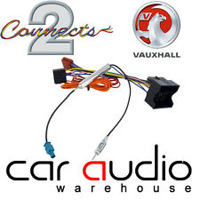 CT20VX04 Vauxhall Astra H Corsa C Vectra C  Aerial & ISO Wiring Harness Adapter