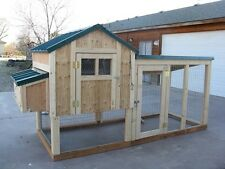 Chicken coop framing plan with material list, The 4 X 4 Kennel Coop