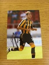 circa 2000s Autographed Glossy Photograph: Hull City - Halmosi, Peter.  When lis