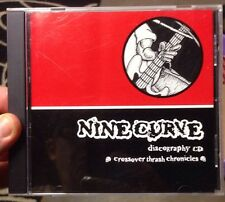 Nine Curve Discography CD Rare Japanese Crossover Thrash Punk