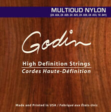 Godin cuerdas para/Strings for Godin multioud nylon