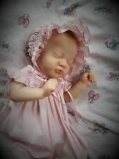 Reborn Baby Girl Doll KAMI ROSE by Laura Lee Eagles Limited Ed Lifelike Newborn