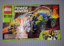 LEGO POWER MINERS INSTRUCTIONS 8188 - FIRE BLASTER