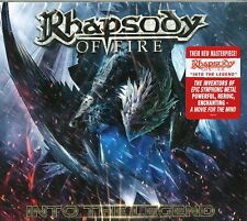 RHAPSODY OF FIRE INTO THE LEGEND CD DIGIPACK DELUXE EDITION NUOVO SIGILLATO !!