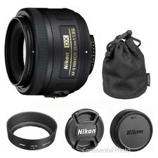 Nikon AF-s 35mm f/1.8G DX Nikkor Lens for D3300 D5300 D5500 D7200 SLR