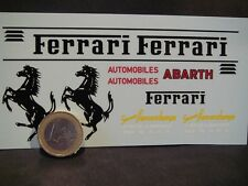 DECALS 1/18 DECORATION FERRARI POUR VW COMBI - T287