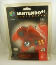 Nintendo 64 N64 Blister Pack Controller FIRE ORANGE - New Factory Sealed