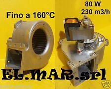 Ventilatore Centrifugo 80 W ALTE TEMPERATURE 160° C Motore elettrico Monofase
