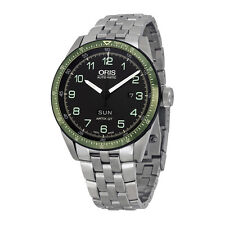 Oris Calobra GT Limited Edition Automatic Black Dial Stainless Steel Mens Watch