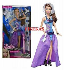 Barbie Fashionistas In the Spotlight Sporty Doll with Gown Girl Toy NEW