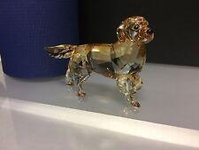 """Swarovski Figur """" Golden Retriever 8,3 cm """" Mit Ovp & Zertifikat. Top Zustand !!"""
