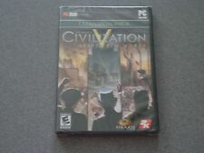 Sid Meier's Civiliaztion V Brave New World Expansion Pack PC DVD-ROM  New