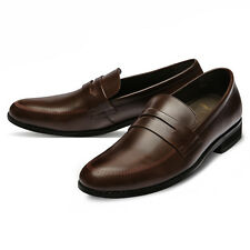Mooda Mens Leather Loafer Shoes Casual Formal Lace up Dress Shoes InaS CA