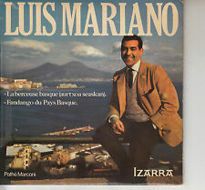45TRS VINYL 7''/ FRENCH SP LUIS MARIANO / BERCEUSE BASQUE