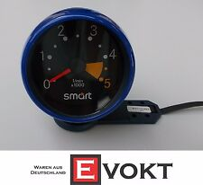 Smart Fortwo 450 Diesel Tachometer Blue Genuine New
