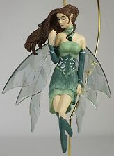 JADE FAIRY ORNAMENT Jessica Galbreth NEW Fantasy Art Figurine Decor Angel Gems