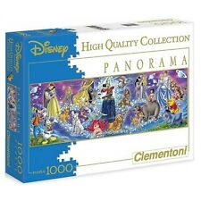 DISNEY PANORAMA PUZZLE 1000 PEZZI WINNIE THE POOH DUMBO PIPPO THE LION KING #1