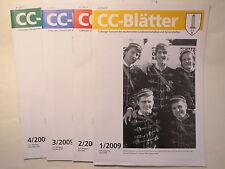 Coburger Convent - CC-Blätter Jahrgang 2009 - Coburg / Studentika
