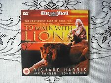 MAIL PROMO DVD  FILM  - TO WALK WITH LIONS - RICHARD HARRIS