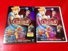 Cinderella III: A Twist in Time (DVD, 2007) VERY GOOD w/ SLIPCOVER