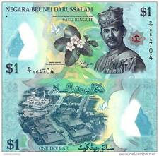 Brunei - 1 dollar - UNC Polymer currency note - 2011 issue