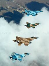 MILITARY AIR PLANE FIGHTER JET FORMATION FLY POSTER ART PRINT PICTURE BB1077A