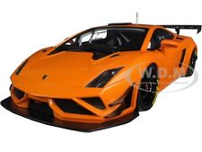 LAMBORGHINI GALLARDO GT3 FL2 2013 METALLIC ORANGE 1/18 MODEL CAR AUTOART 81357