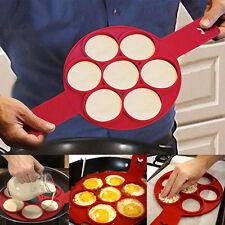 Perfect Flippin Non Stick Pancake Pan Flip Breakfast Maker Eggs Omelette Tool