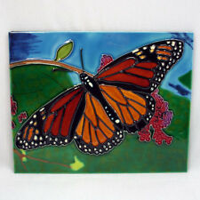 TILE CRAFT - Decorative Tile - MONARCH BUTTERFLY - #2124H