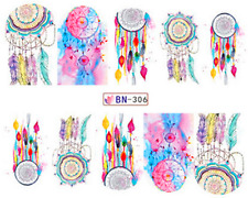 New Manicure Tips For Nail Art Decoration Water Transfer Decals BN306R