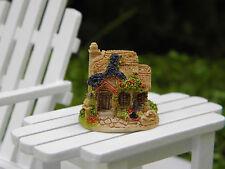 "Miniature Dollhouse FAIRY GARDEN Accessories ~ TINY 1"" Fuchsia Cottage ~ NEW"