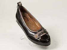New Just Cavalli Brown Patent Shoes Size 40 US 10