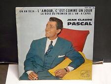 JEAN CLAUDE PASCAL L amour c est comme un jour ... VDSM EGF 554