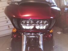 Road Glide Vent Grille Custon Fit Harley-Davidson diamond pattern black