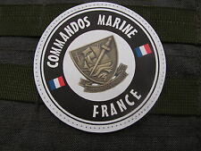 Patch Velcro PVC - COMMANDOS MARINE FRANCE - article fantaisie COS hubert INVEX