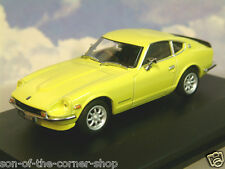 OXFORD DIECAST 1/43 S30 DATSUN 240Z 240 Z IN YELLOW 112 RHD UK REGISTERED DAT002