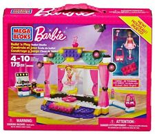 Mega Bloks Barbie Build 'n Play Ballet Studio  New & Sealed