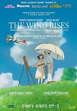 The Wind Rises (2013) Movie Poster (24x36) - Studio Ghibli, Levitt, Blunt NEW