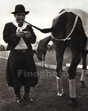 1936 Vintage 11x14 OLYMPICS POLO Equestrian Horse Mexico Photo Art By PAUL WOLFF