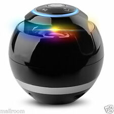 LED Mini Bluetooth Lautsprecher Speaker Box MP3 TF FM Radio für Handy Tablet PC