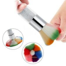 Nail Art Dust Remover Brush Cleaner For Acrylic & UV Nail Gel Powder