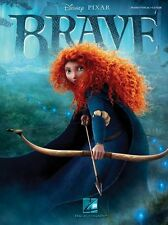 Brave The Motion Picture Soundtrack Play Merida Piano Guitar PVG Music Book