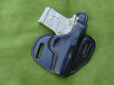 Sig Sauer P938 Thumb break cocked and locked carry leather holster  black
