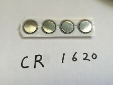 CR1620 DL1620 3V/70mAh Lithium Button Coin Battery for watches, calculator x4