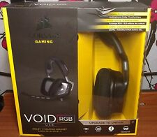 Corsair VOID RGB Dolby 7.1 Surround USB wired Gaming Headset - Black Carbon
