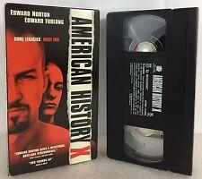American History X (VHS Tape, 1999) Edward Norton, Edward Furlong
